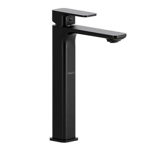 Robinet de lavabo monotrou haut noir Equinox par Riobel