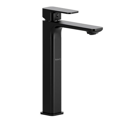 Riobel Robinet de lavabo monotrou haut noir Equinox par Riobel