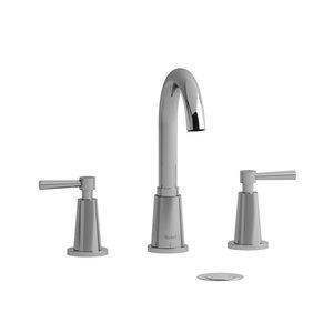 """Robinet de lavabo 8"""" chrome avec drain Pallace par Riobel"""