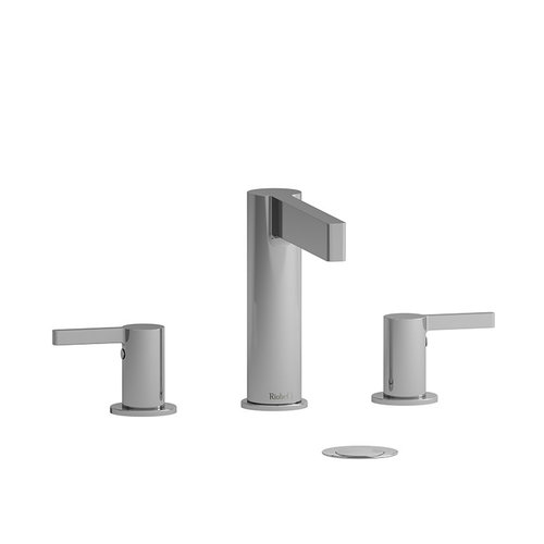 "Robinet de lavabo 8"" chrome avec drain Paradox par Riobel"
