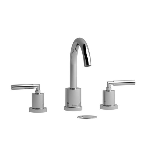 "Riobel Robinet de lavabo 8"" chrome avec drain Sylla par Riobel"