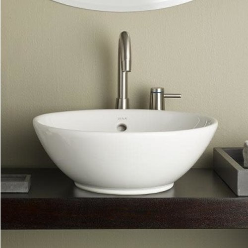 Lavabo rond de type vasque Water Lily par Cheviot