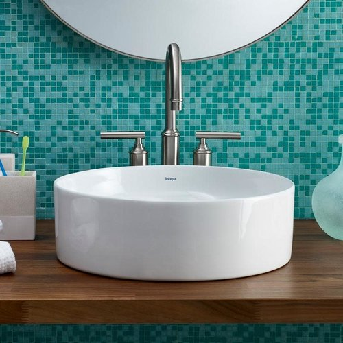 Lavabo rond de type vasque Flow par Cheviot