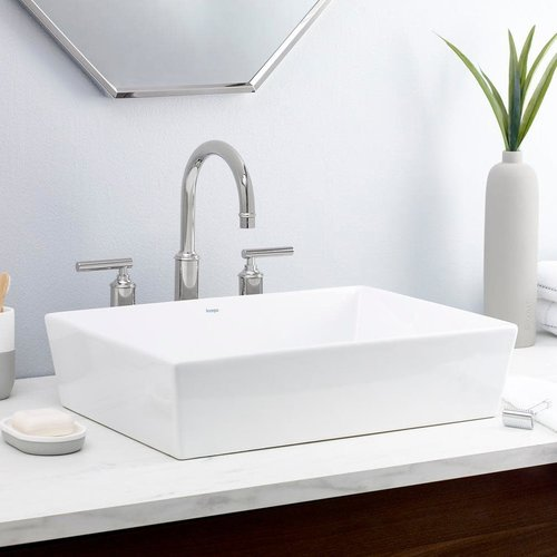 Lavabo rectangulaire de type vasque Flex par Cheviot