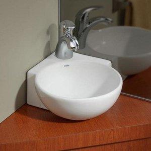 Lavabo en coin mural ou vasque Corner par Cheviot