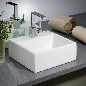 CHEVIOT Lavabo carré de type vasque Rio par Cheviot