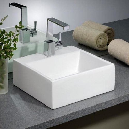 CHEVIOT Lavabo carré de type vasque Rio par Cheviot