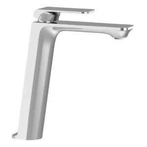 TENZO Robinet de lavabo monotrou haut chrome Quantum par Tënzo