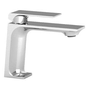 TENZO Robinet de lavabo monotrou chrome Slik par Tënzo
