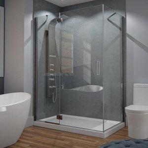 Porte de douche en alcove Azelia par Neptune