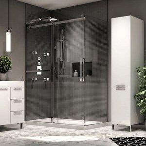 Porte de douche en coin Exalt par Neptune