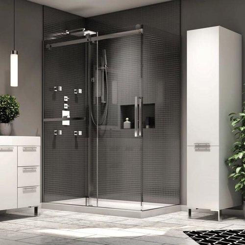 Porte de douche en alcove Exalt par Neptune