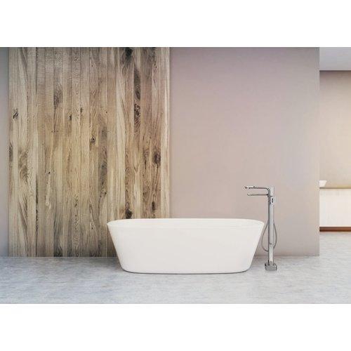 Robinet de bain au sol avec douchette Equinox par Riobel