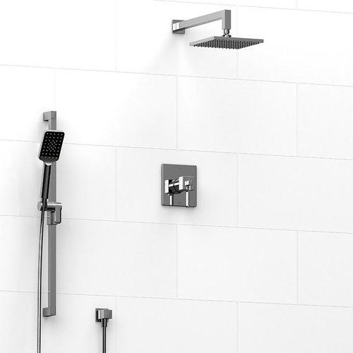 Ensemble de plomberie chrome pour douche Mizo par Riobel