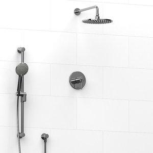 Ensemble de plomberie chrome pour douche Premium par Riobel