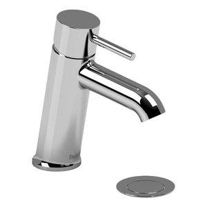 Robinet de lavabo monotrou chrome avec drain Njoy par Riobel