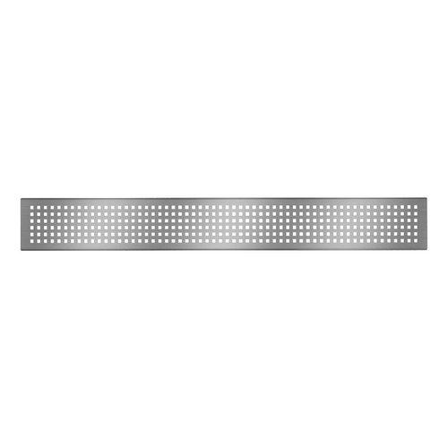 """Grille de drain linéaire 24"""" en inox pour douche modèle A1 par Zitta"""