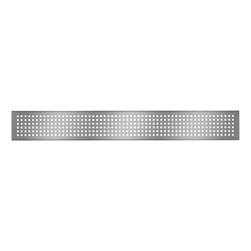 """Grille de drain linéaire 26"""" en inox pour douche modèle A1 par Zitta"""