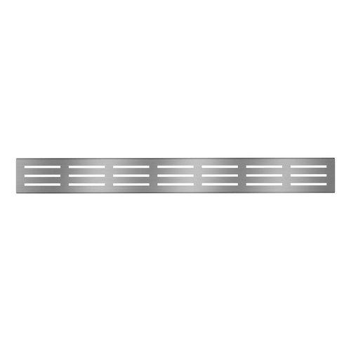 """ZITTA Grille de drain linéaire 48"""" en inox pour douche modèle A2 par Zitta"""