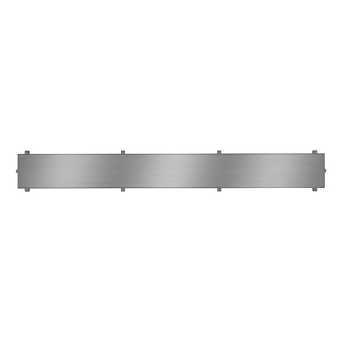 """Grille de drain linéaire 26"""" en inox pour douche modèle B1 par Zitta"""