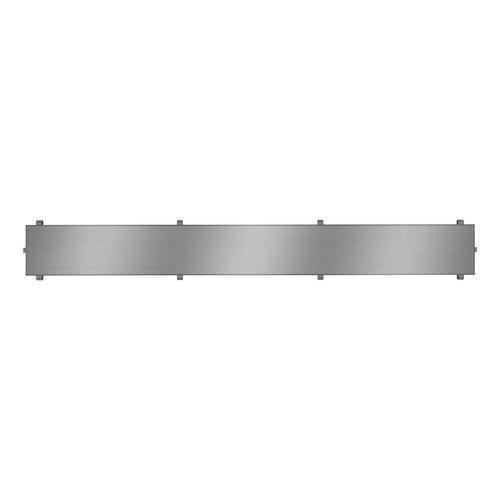 """Grille de drain linéaire 48"""" en inox pour douche modèle B1 par Zitta"""