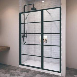 Porte de douche en alcove Materia par Zitta