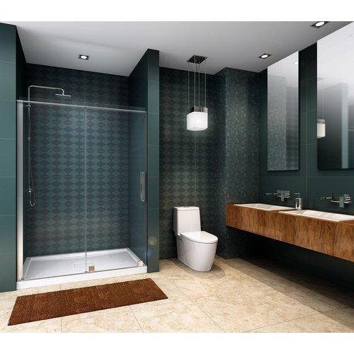 Porte de douche en alcove Quadro par Zitta