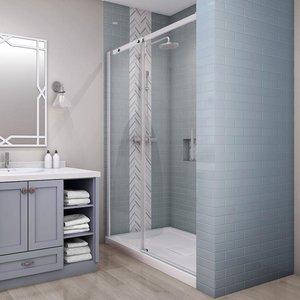 Porte de douche en alcove Vague par Zitta