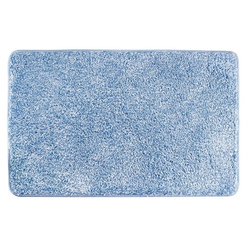 Tapis de bain bleu Heathered par Interdesign