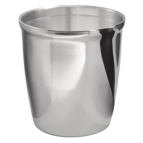 Poubelle chrome Forma par Interdesign