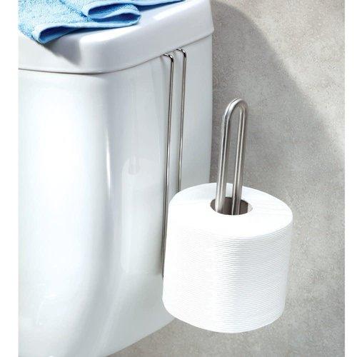 Support à papier de toilette fini brossé Forma par Interdesign