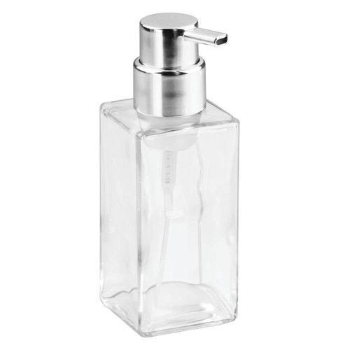 Pompe à savon verre et chrome Casilla par Interdesign