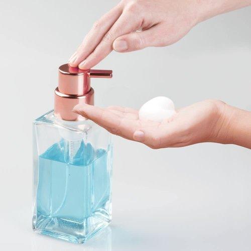 Pompe à savon verre et cuivre Casilla par Interdesign