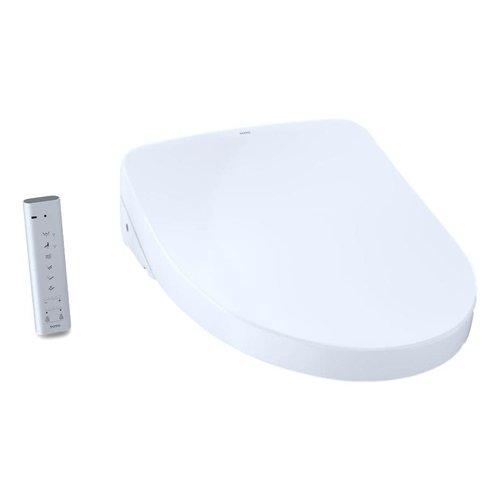 Toto Siège de toilette allongé avec bidet intégré Washlet+ S550e par Toto
