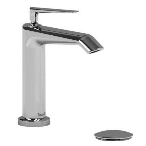 Robinet de lavabo monotrou chrome avec drain Venty par Riobel