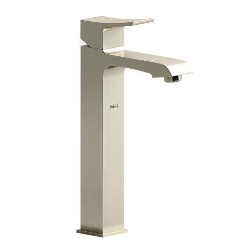 Robinet de lavabo monotrou nickel brossé Zendo par Riobel