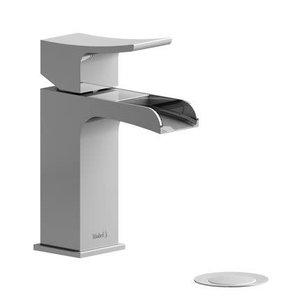 Robinet de lavabo monotrou chrome avec drain Zendo par Riobel