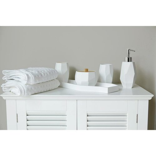 Porte-savon blanc Nest par Harman