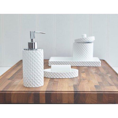 Porte-brosse à dents blanc Milan par Harman