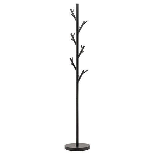 Patère arbre avec 6 crochets noirs