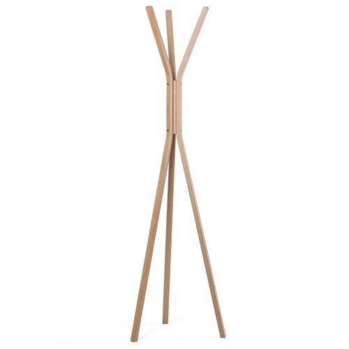 TORRE&TAGUS Patère Talio en bois naturel