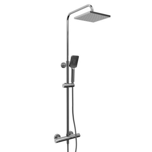 Riobel Rail de douche duo avec barre Type T externe