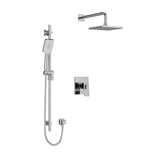 Riobel Ensemble de plomberie chrome pour douche Zendo par Riobel