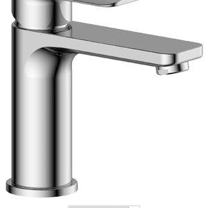 TENZO Robinet de lavabo DELANO monotrou Chrome par TENZO