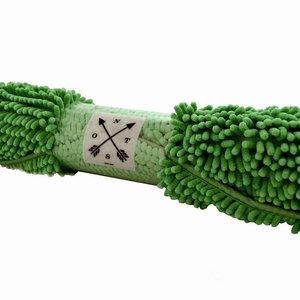NOSTALGIA Tapis de bain chenille vert