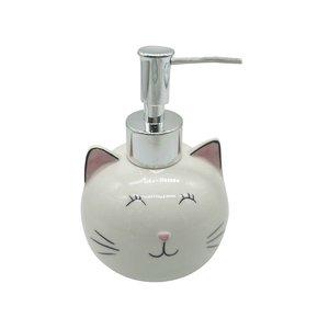 NOSTALGIA Pompe à savon de chat