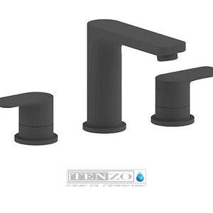 TENZO Robinet de lavabo Delano 8 pouces noir mat par Tenzo
