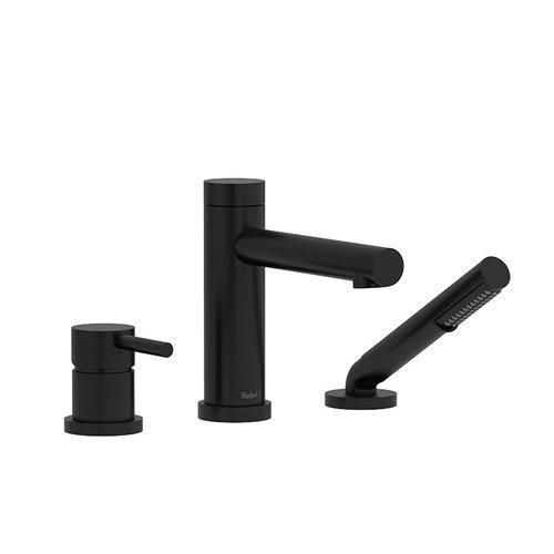Riobel Robinet de bain noir avec douchette GS par Riobel