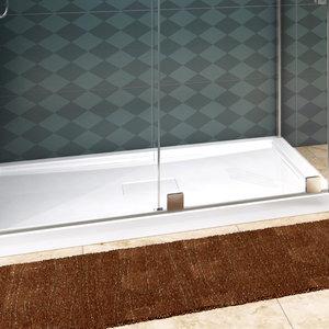 ZITTA Base de douche 60x36 bride à droite par Zitta