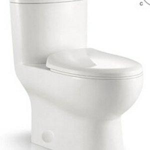 ligano Toilette 353 Mono arrondie, double chasses par LIGANO